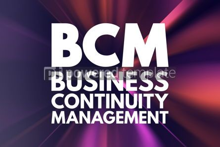Business: BCM - Business Continuity Management acronym business concept b #15844