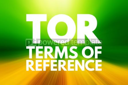 Business: TOR - Terms of Reference acronym business concept background #15850