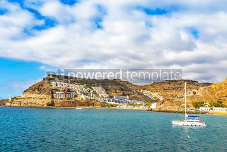 Nature: Ocean bay near Tauro beach Playa de Tauro Gran Canaria Spain #15852