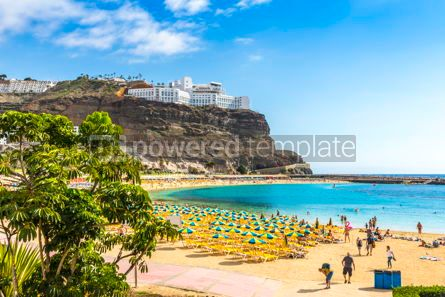 Nature: Amadores beach Playa del Amadores Gran Canaria island Spain #15853