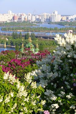 Nature: Picturesque spring view of Kyiv city Ukraine #15856