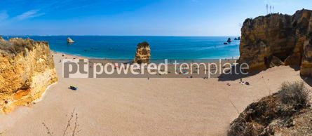 Nature: Praia Dona Ana beach in Lagos Algarve Portugal #15861