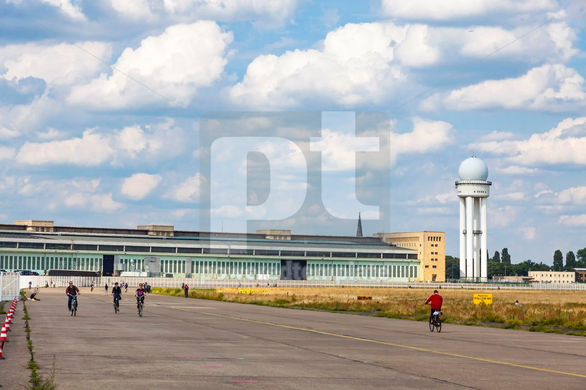 Berlin Tempelhof Airport former airport of Berlin Germany, 15863, Transportation — PoweredTemplate.com