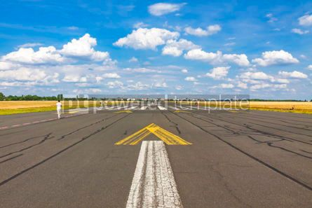 Transportation: Berlin Tempelhof Airport former airport of Berlin Germany #15865