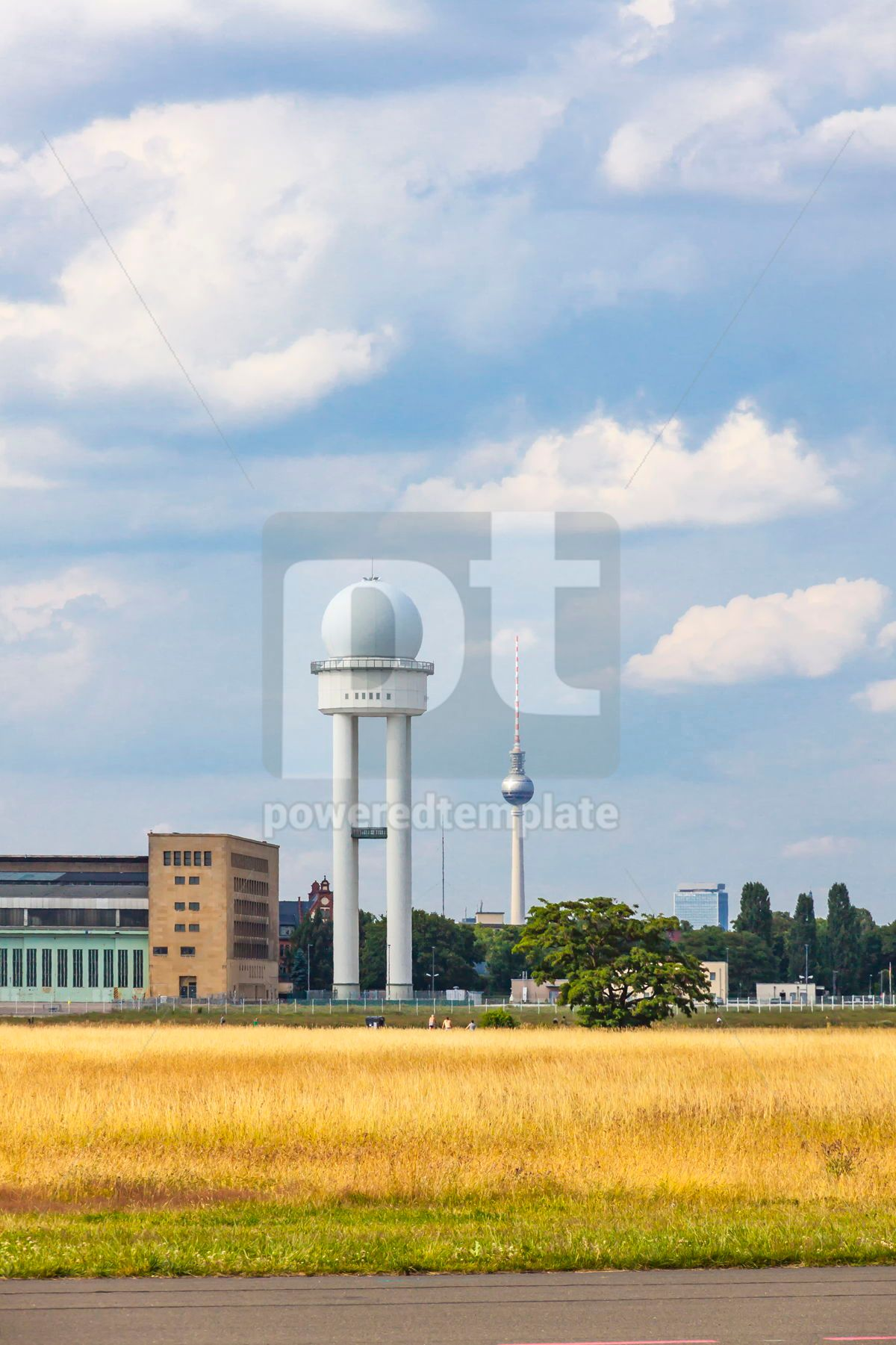 Berlin Tempelhof Airport former airport of Berlin Germany, 15867, Transportation — PoweredTemplate.com