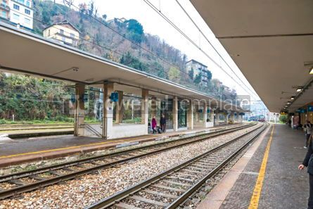 Transportation: Como San Giovanni railway station Lombardy Italy #15874