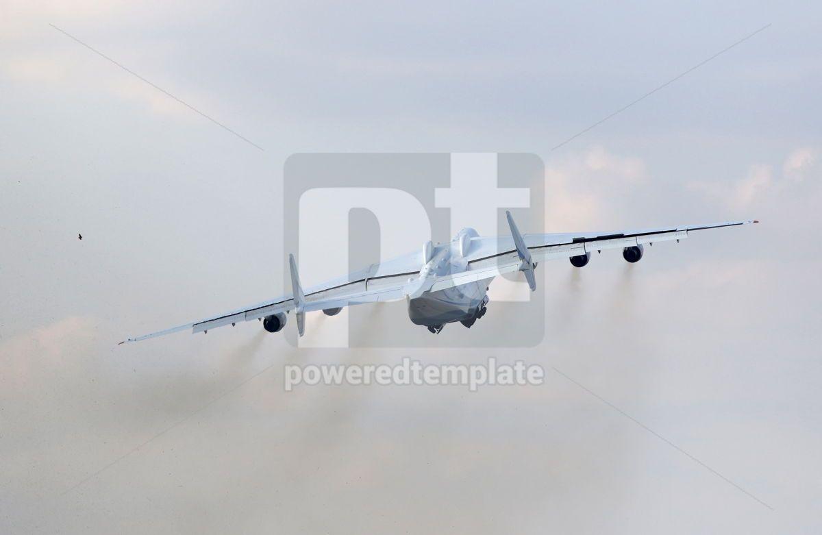 Antonov An-225 Mriya aircraft at Gostomel Airport Kiev Ukraine, 15883, Transportation — PoweredTemplate.com