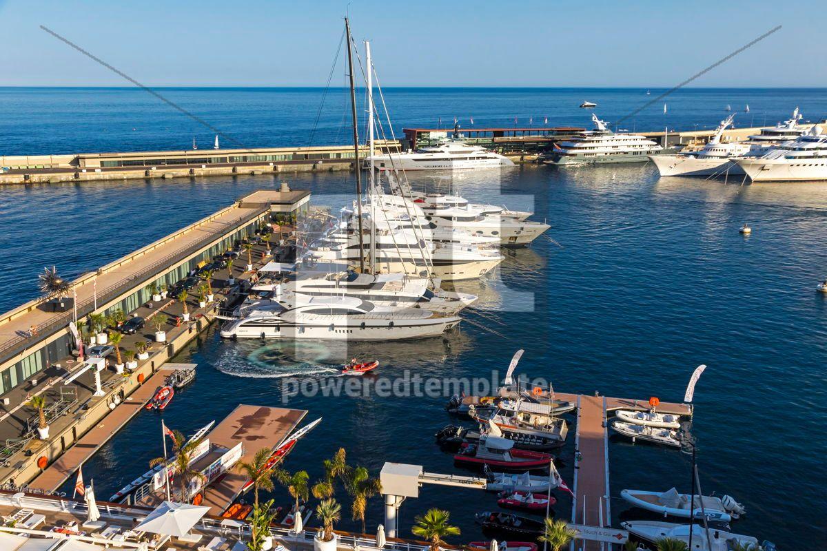 Yacht Club de Monaco Marina Monaco, 15886, Transportation — PoweredTemplate.com