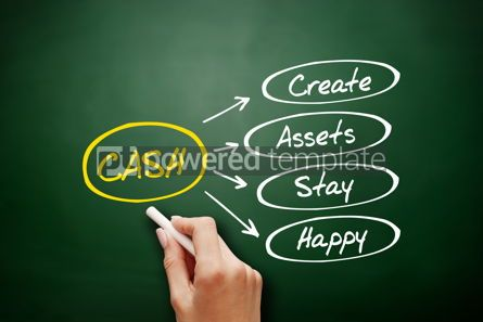 Business: CASH - Create Assets Stay Happy acronym #15904