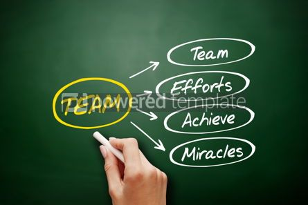 Business: TEAM - Team Effort Achieve Miracles acronym #15921