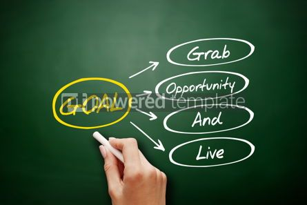 Business: GOAL - Grab Opportunity And Live acronym #15925