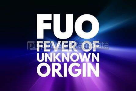 Business: FUO - Fever of Unknown Origin acronym concept background #15954