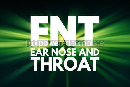 Business: ENT - Ear Nose and Throat acronym concept background #15956