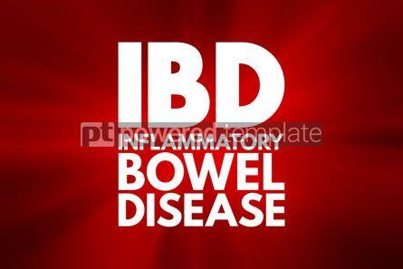 Business: IBD - Inflammatory Bowel Disease acronym medical concept backgr #16021