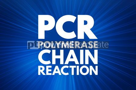 Business: PCR - Polymerase Chain Reaction acronym medical concept backgr #16024