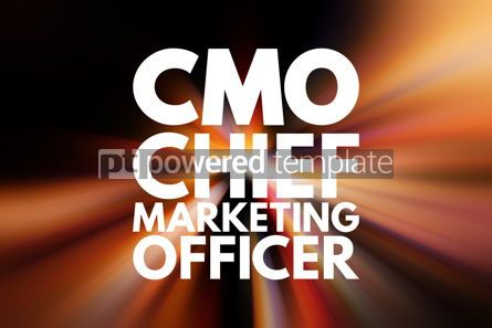 Business: CMO - Chief Marketing Officer acronym business concept backgrou #16030