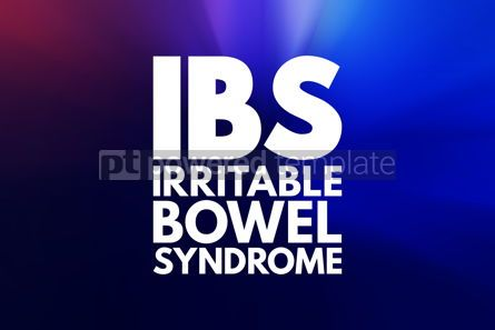 Business: IBS - Irritable Bowel Syndrome acronym medical concept backgrou #16031