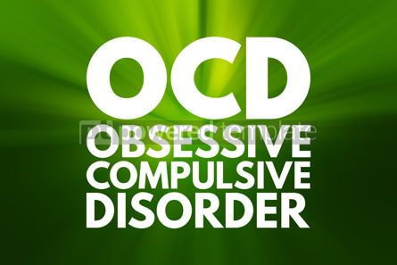 Business: OCD - Obsessive Compulsive Disorder acronym medical concept bac #16034
