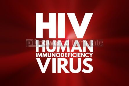 Business: HIV - Human Immunodeficiency Virus acronym health concept backg #16040