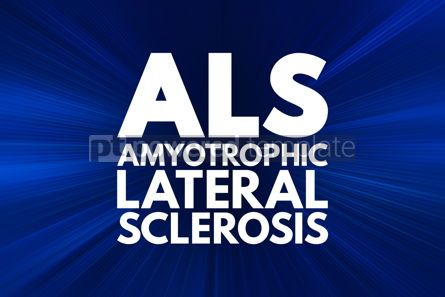 Business: ALS - Amyotrophic Lateral Sclerosis acronym medical concept bac #16042