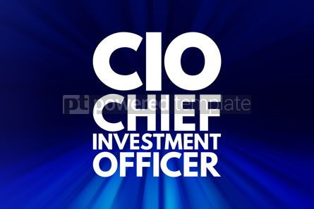 Business: CIO - Chief Investment Officer acronym business concept backgro #16045