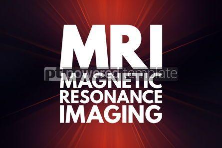 Business: MRI - Magnetic Resonance Imaging acronym medical concept backgr #16047