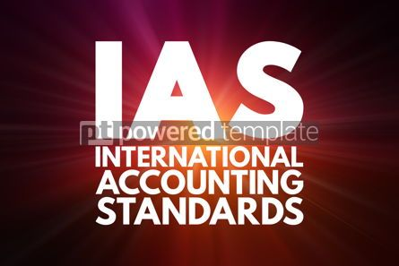 Business: IAS - International Accounting Standards acronym business conce #16057