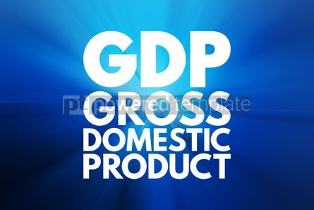 Business: GDP - Gross Domestic Product acronym business concept backgroun #16074