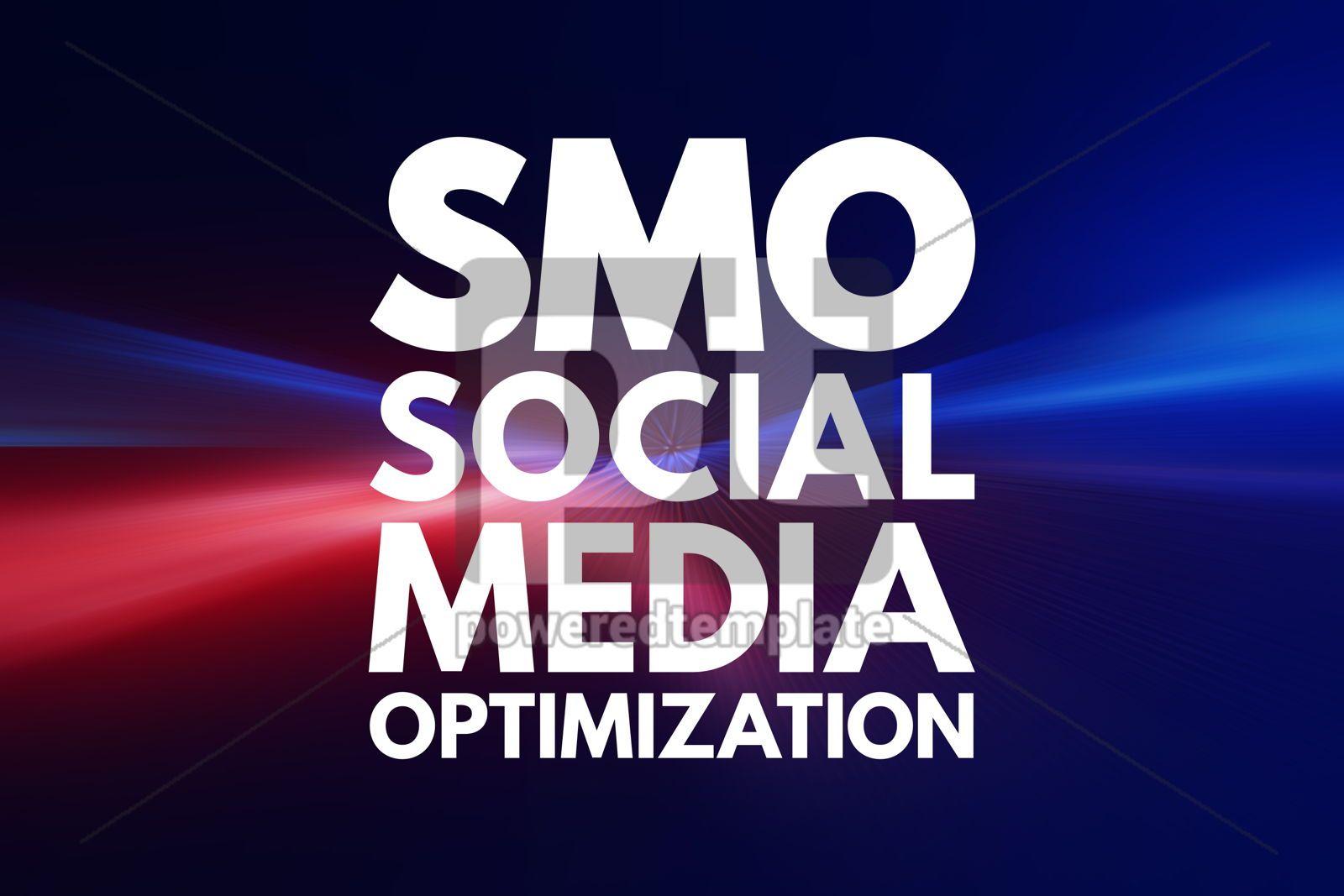 SMO - Social Media Optimization acronym internet concept backgr, 16080, Business — PoweredTemplate.com