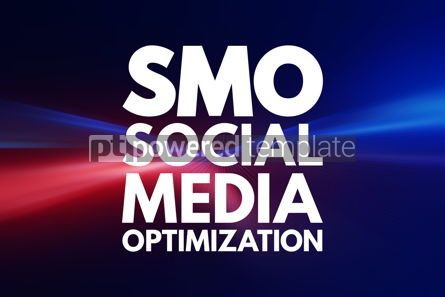 Business: SMO - Social Media Optimization acronym internet concept backgr #16080