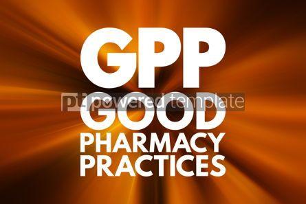 Business: GPP - Good Pharmacy Practices acronym concept background #16085