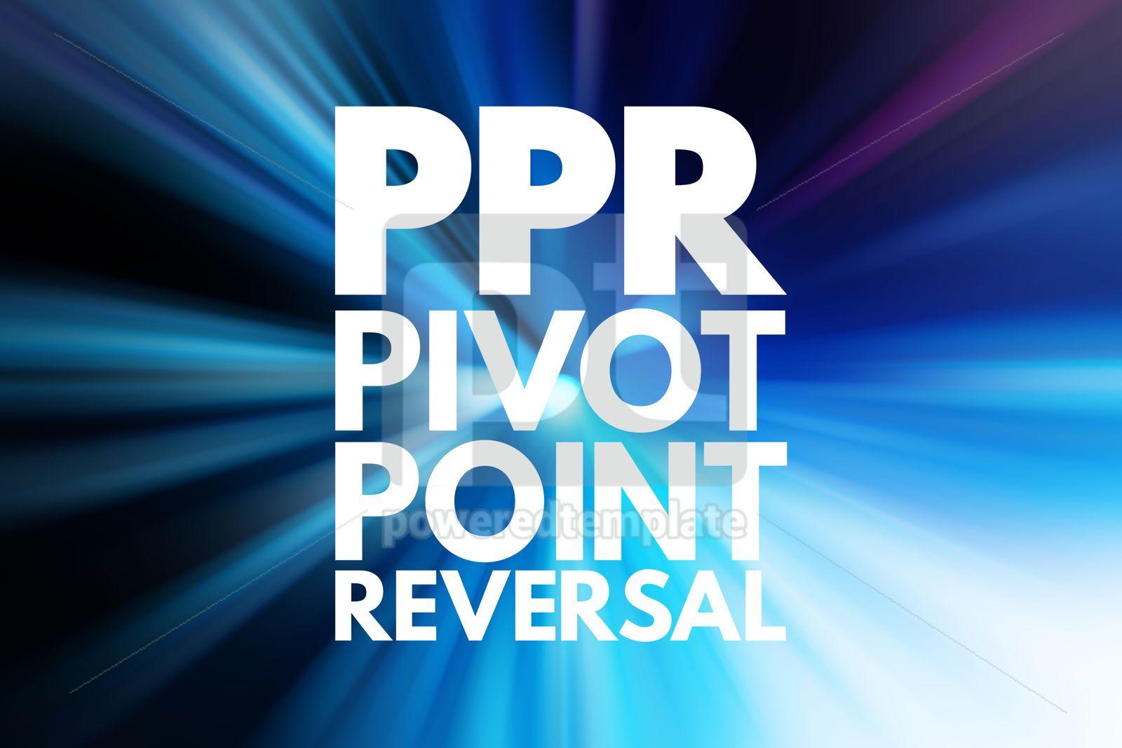PPR - Pivot Point Reversal acronym business concept background, 16087, Business — PoweredTemplate.com