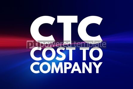Business: CTC - Cost To Company acronym business concept background #16098