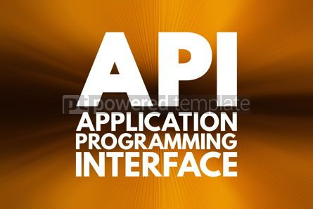 Business: API - Application Programming Interface acronym technology conc #16103