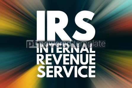 Business: IRS - Internal Revenue Service acronym business concept backgro #16136