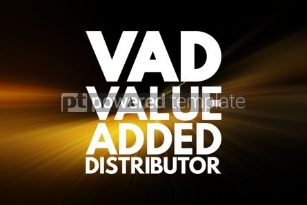 Business: VAD - Value Added Distributor acronym business concept backgrou #16149