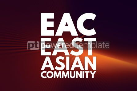 Business: EAC - East Asian Community acronym business concept background #16160