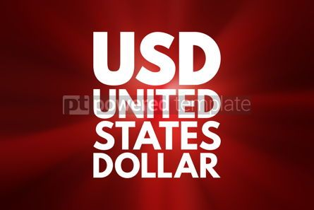 Business: USD - United States Dollar acronym business concept background #16161