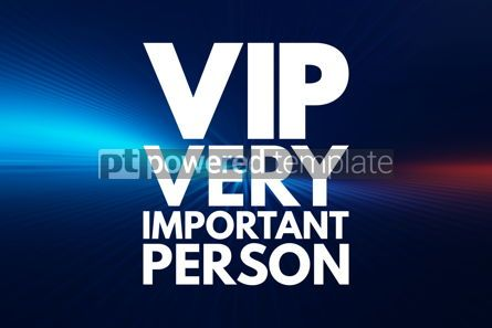 Business: VIP - Very Important Person acronym concept background #16162
