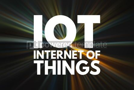 Business: IOT - Internet Of Things acronym technology concept background #16170
