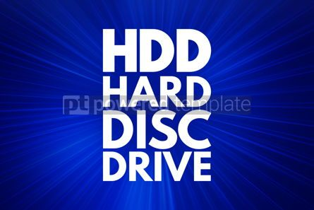Business: HDD - Hard Disc Drive acronym technology concept background #16186