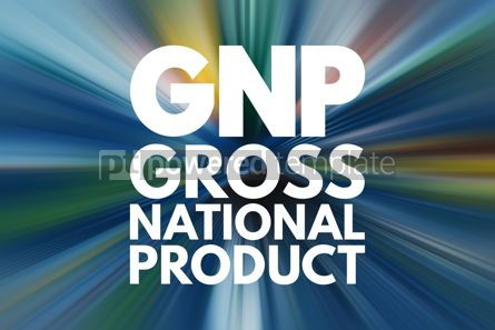 Business: GNP - Gross National Product acronym business concept backgroun #16197