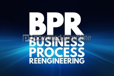 Business: BPR - Business Process Reengineering acronym concept background #16223