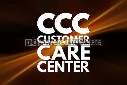 Business: CCC - Customer Care Center acronym business concept background #16225