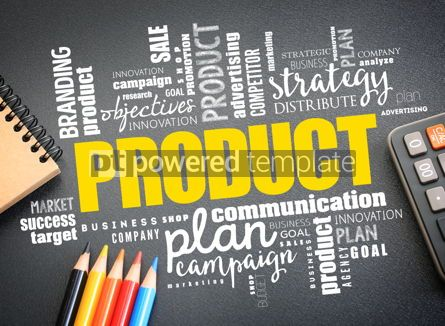 Business: PRODUCT word cloud collage business concept background #16273