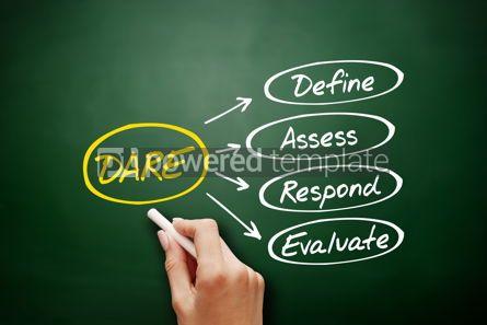 Business: DARE - Define Assess Respond Evaluate acronym #16302