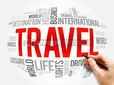Business: TRAVEL word cloud collage travel concept #16320