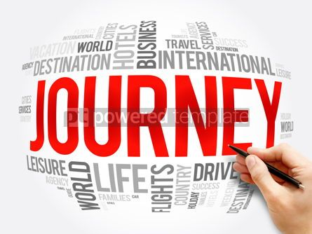 Business: Journey word cloud collage travel concept #16321