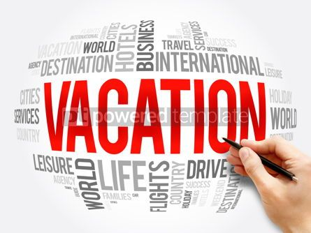 Business: Vacation word cloud collage travel concept #16322