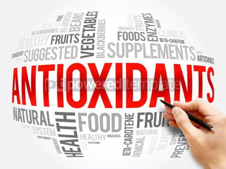 Business: Antioxidants word cloud collage health concept #16326